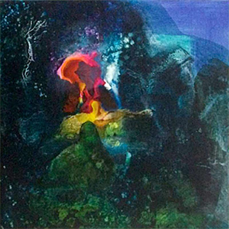 Mining 2 Oil on Canvas