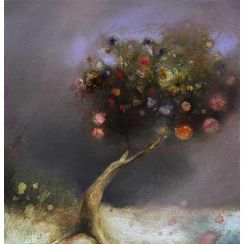Magic Tree Oil Painting