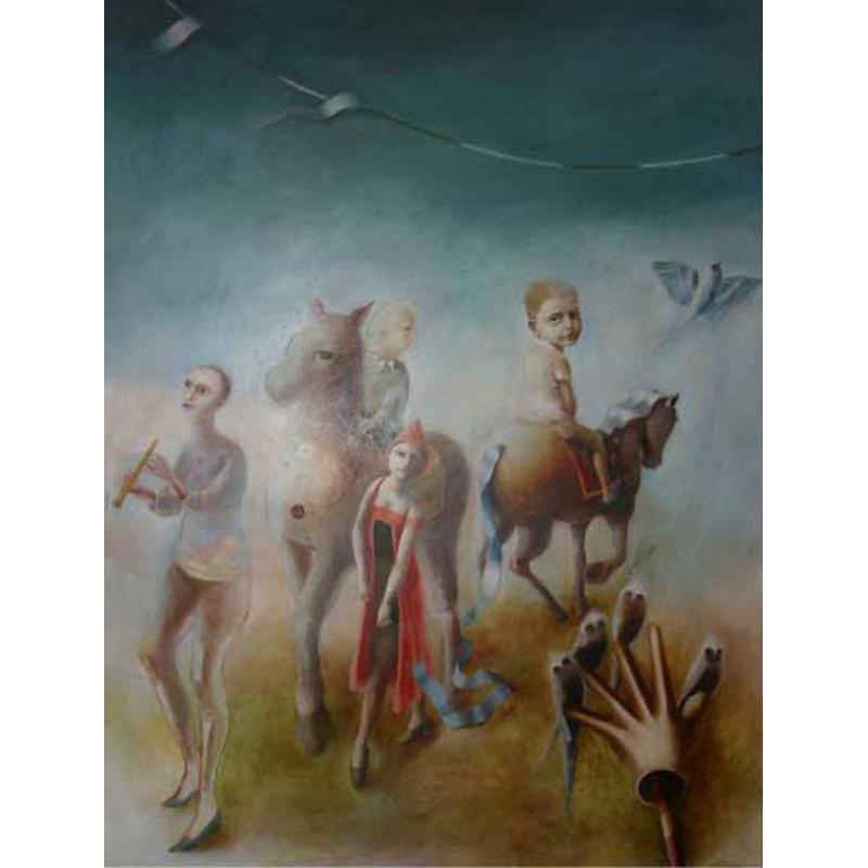 Traveller Oil Painting