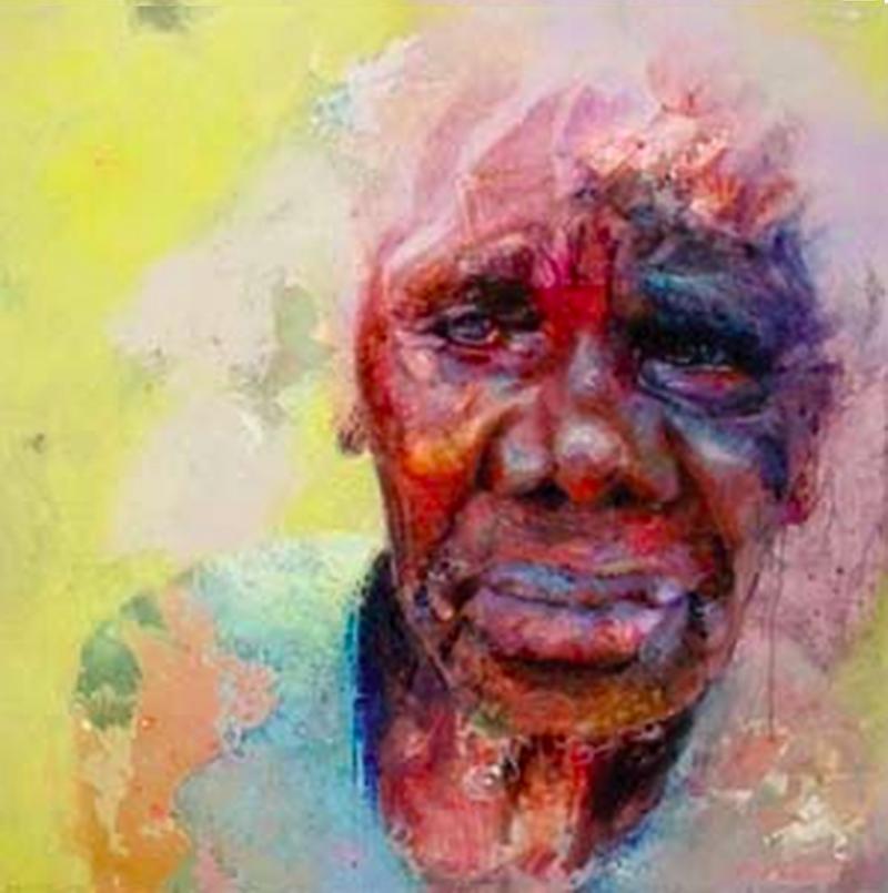 Laurie Baymarrwangga Portrait 'Virtue'