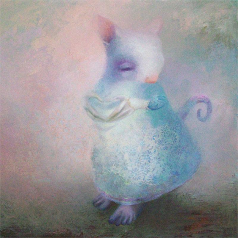 Sweetheart Oil On Canvas